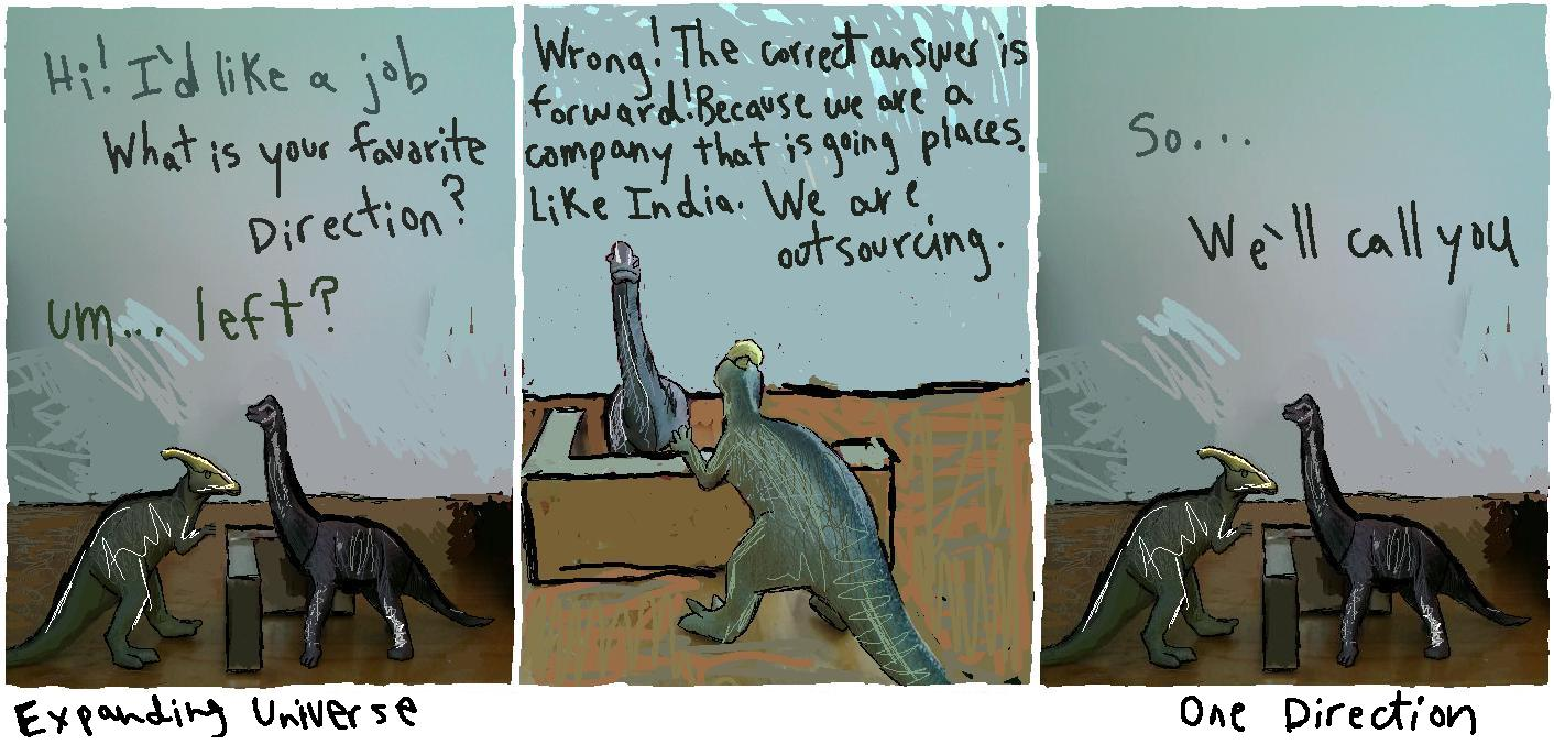 dinosaurs making jokes